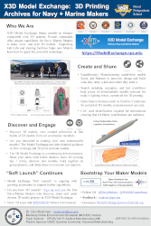 NPS NRP Poster: X3D Model Exchange for Navy/Marine Makers